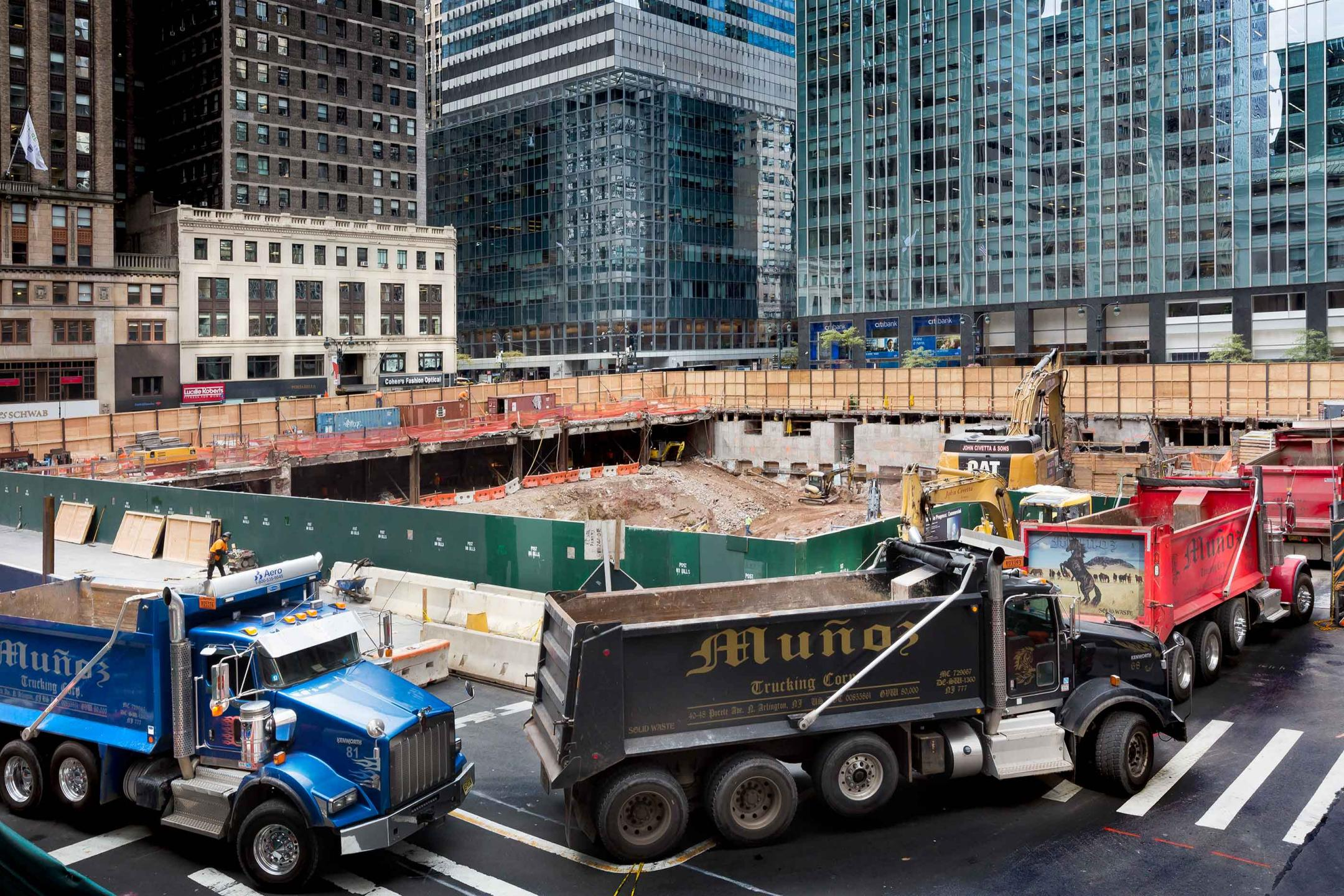 Construction New York Ny Architectural Photographer
