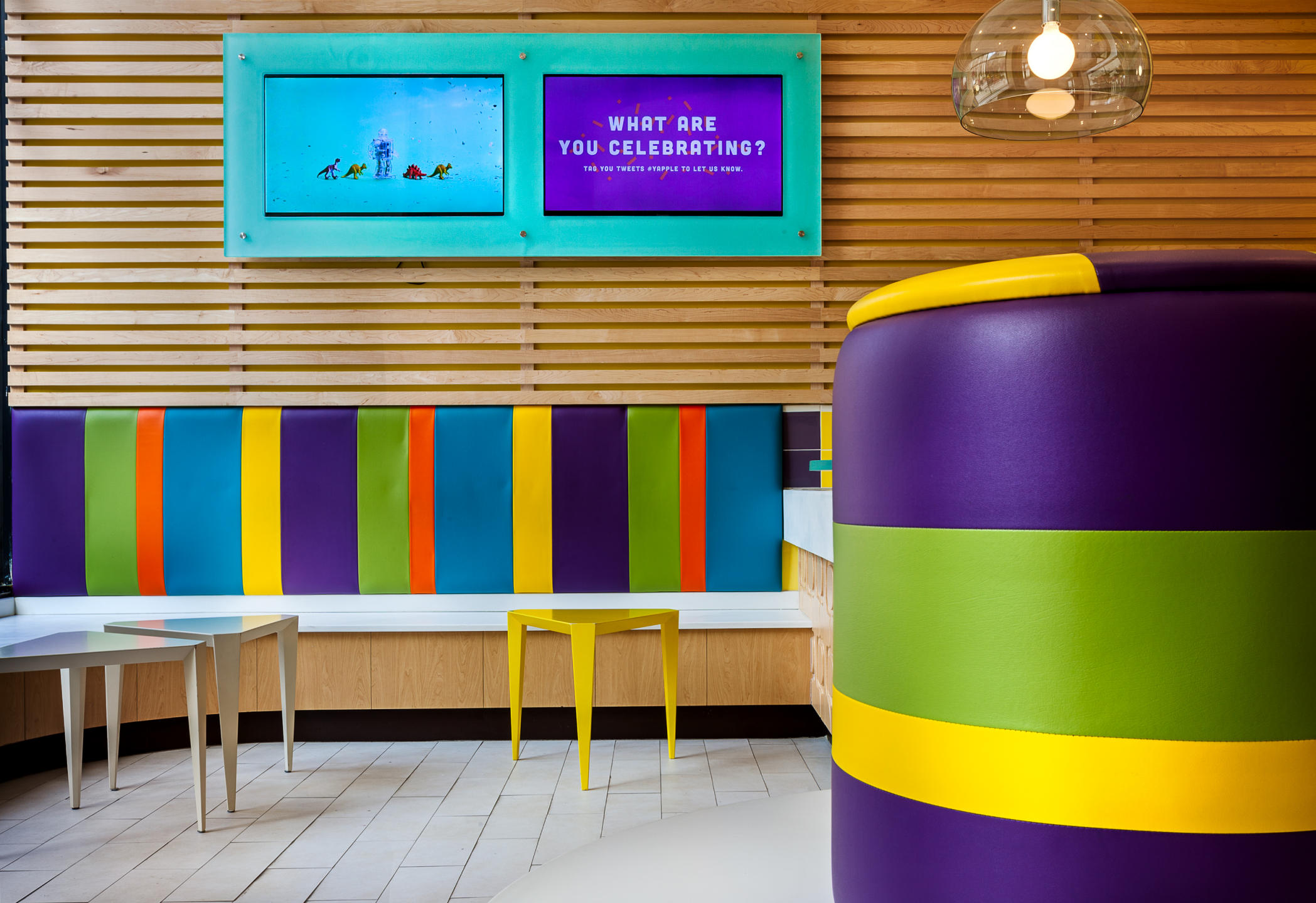 Yapple Yogurt Store - Upper Westside NYC : Miscellanous Projects : New York NY Architectural Photographer | Interior and Exterior
