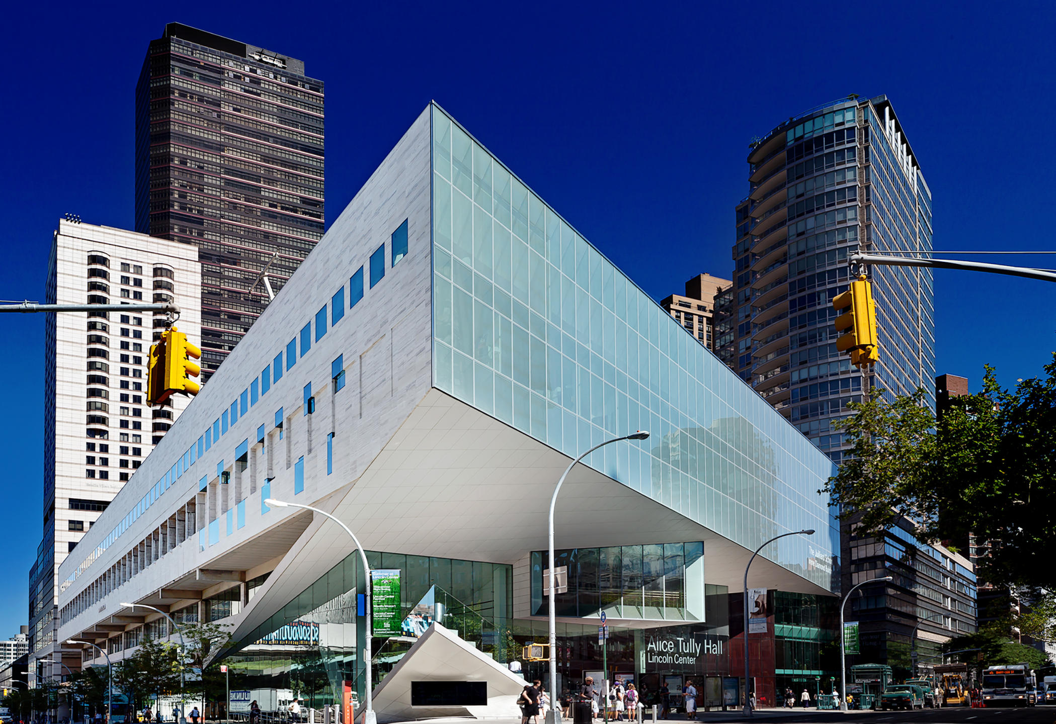 Alice Tully Hall, NYC Lincoln Center renovated by Diller Scofidio  + Renfro : Miscellanous Projects : New York NY Architectural Photographer | Interior and Exterior