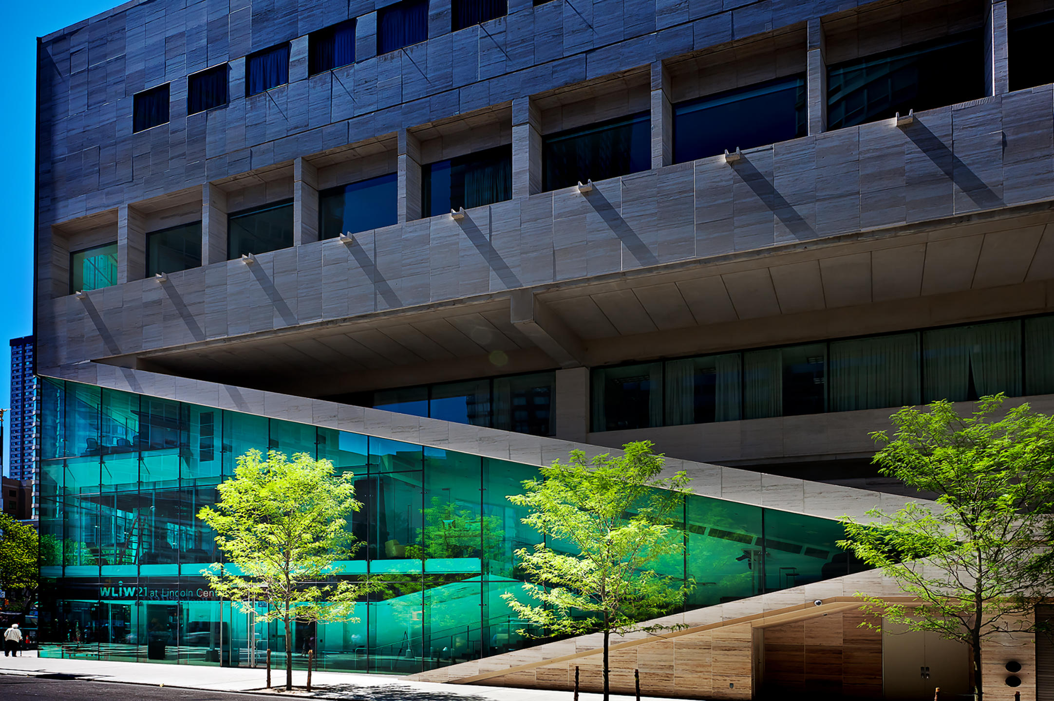 Alice Tully Hall, NYC Lincoln Center renovated by Diller Scofidio  + Renfro WNET Television studio space on the northside of the building : Miscellanous Projects : New York NY Architectural Photographer | Interior and Exterior