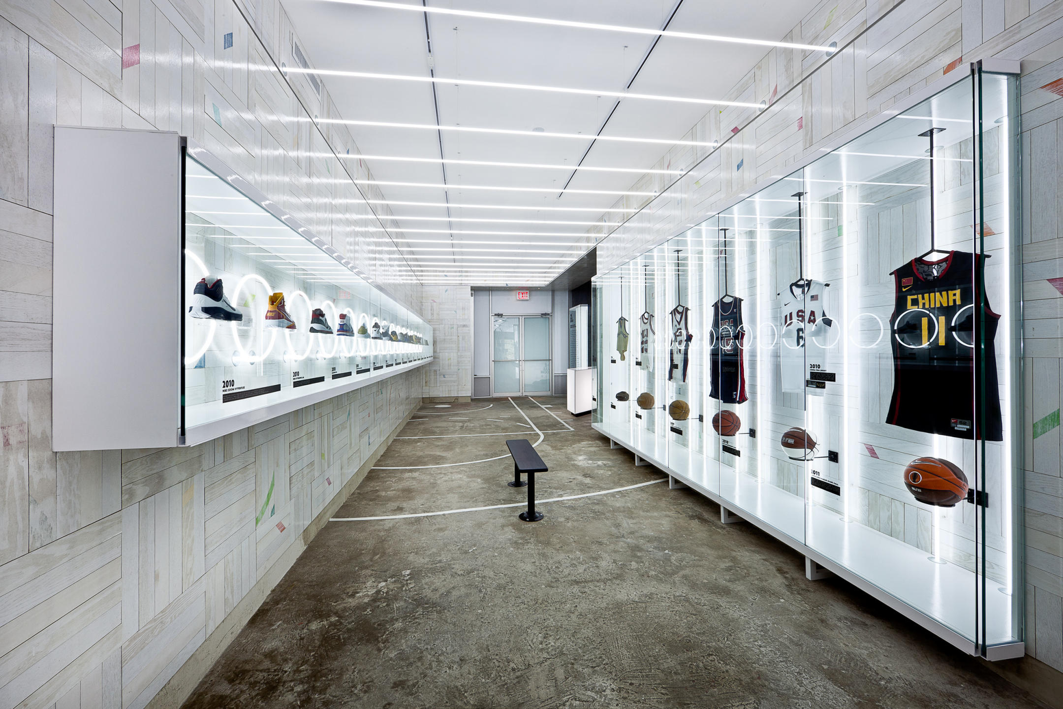NIKE BALLROOM store in Harlem, NYC : NIKE : New York NY Architectural Photographer | Interior and Exterior