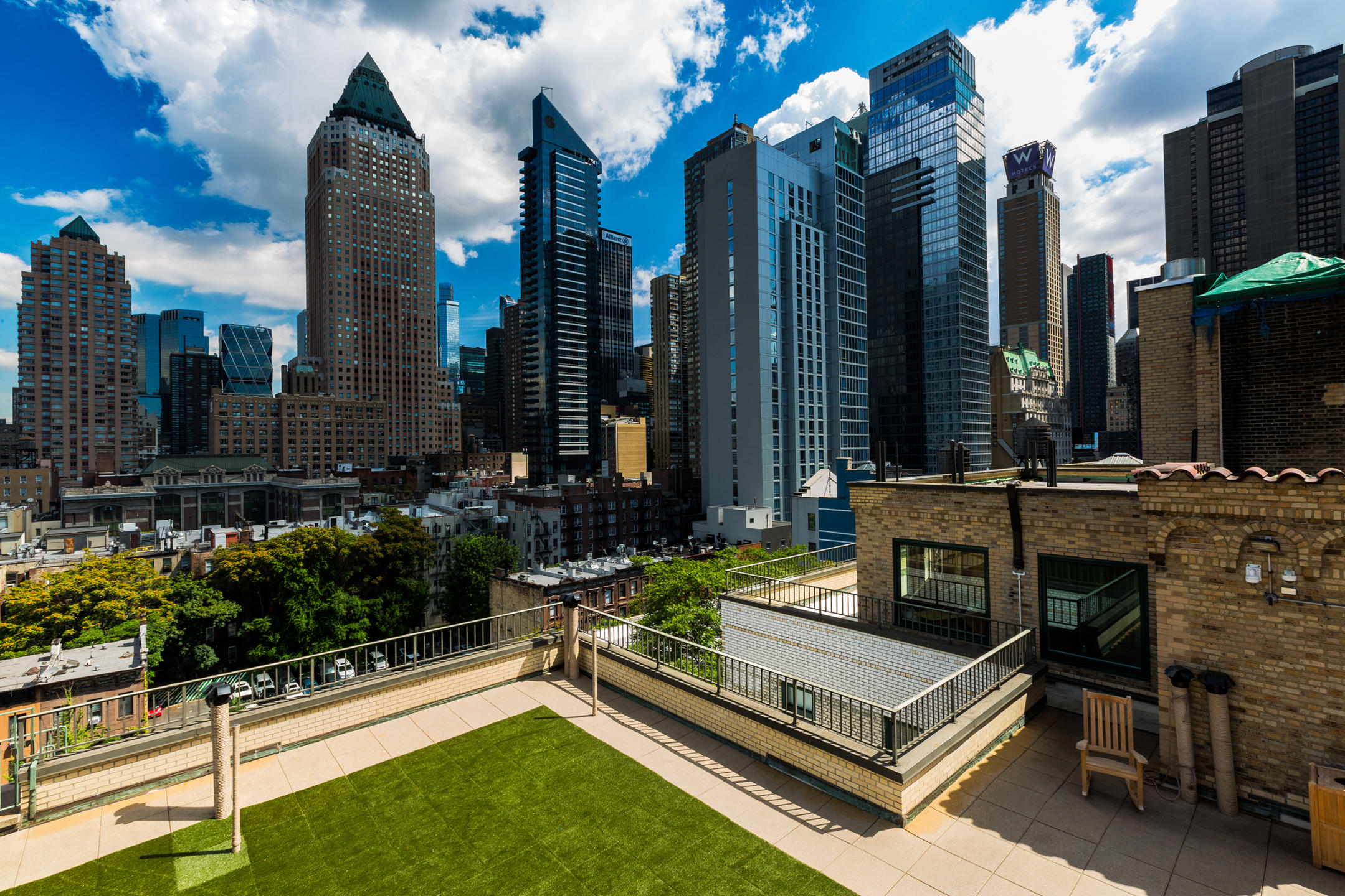 Ecore International Flooring - The Whitby  rooftop NYC : Miscellanous Projects : New York NY Architectural Photographer | Interior and Exterior
