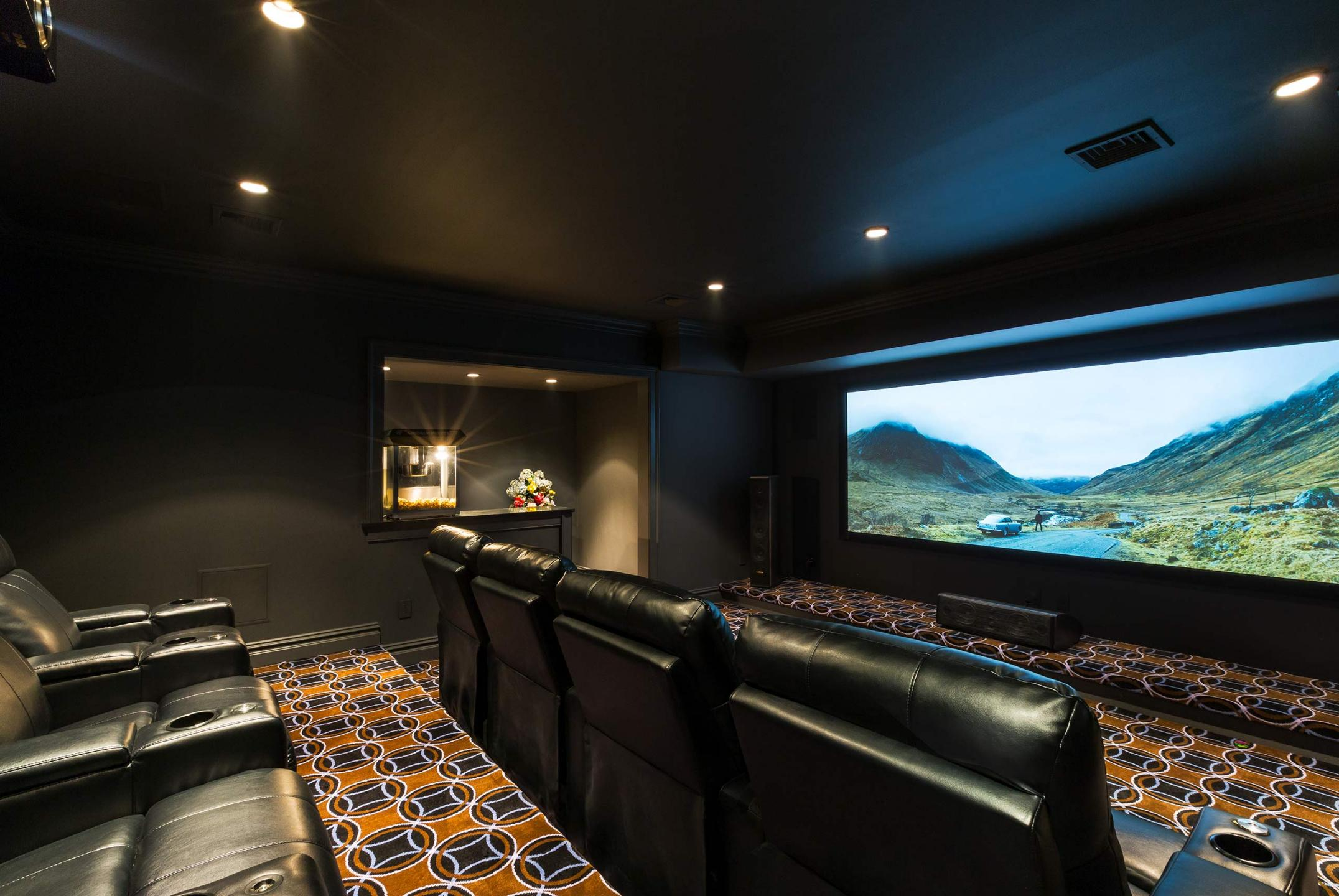 KAIDEN TECHNOLOGIES - Home Entertainment Systems - large scale home theater. : Miscellanous Projects : New York NY Architectural Photographer | Interior and Exterior