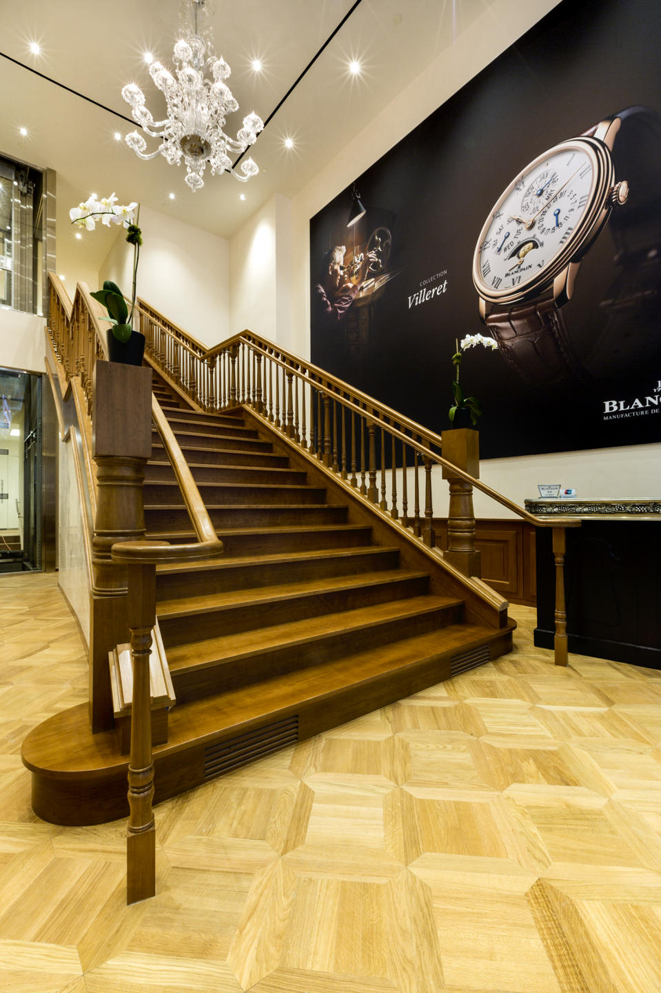 Blancpain Watches retail store on 5th Avenue NYC for the Swatchgroup, Inc. : Blancpain Watches NYC : New York NY Architectural Photographer | Interior and Exterior